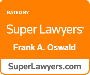 Super Lawyers Frank A. Oswald badge